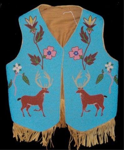 Nez Perce Beaded Vest