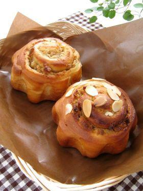 「胡桃のスイートロール」ナナママちゃん | お菓子・パンのレシピや作り方【corecle*コレクル】
