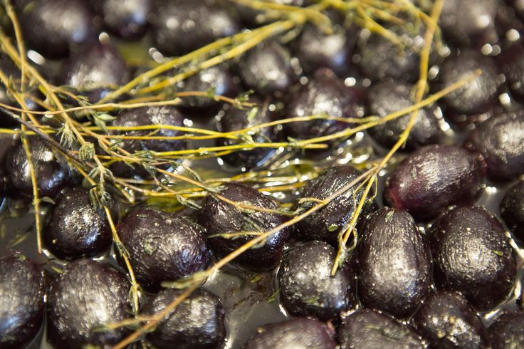 thyme roasted grapes