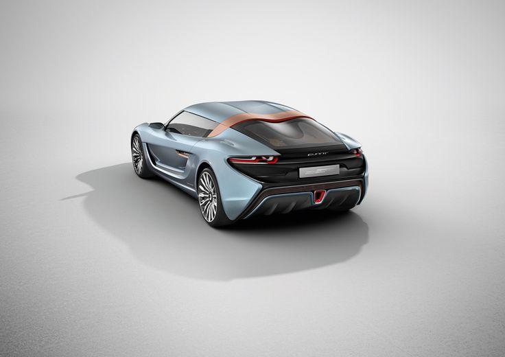 900 horsepower QUANT e-sportlimousine runs exclusively on salt water