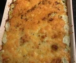 Low carb cauliflower cheese bake by KatyBoo on www.recipecommunity.com.au