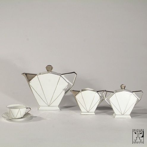 Art Déco coffee set executed by Victoria - ZEITLOS – BERLIN