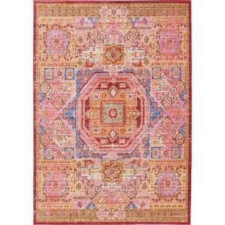 Shop for Turkish Aria Orange Polypropylene Rug (6' x 8' 11). Get free shipping at Overstock.com - Your Online Home Decor Outlet Store! Get 5% in rewards with Club O! - 19180743