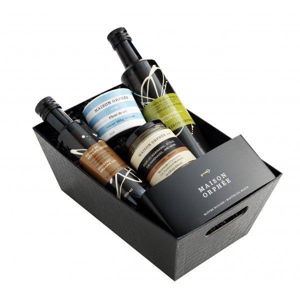Maison Orphée discovery gift basket - Panier cadeau Découvertes de Maison Orphée.