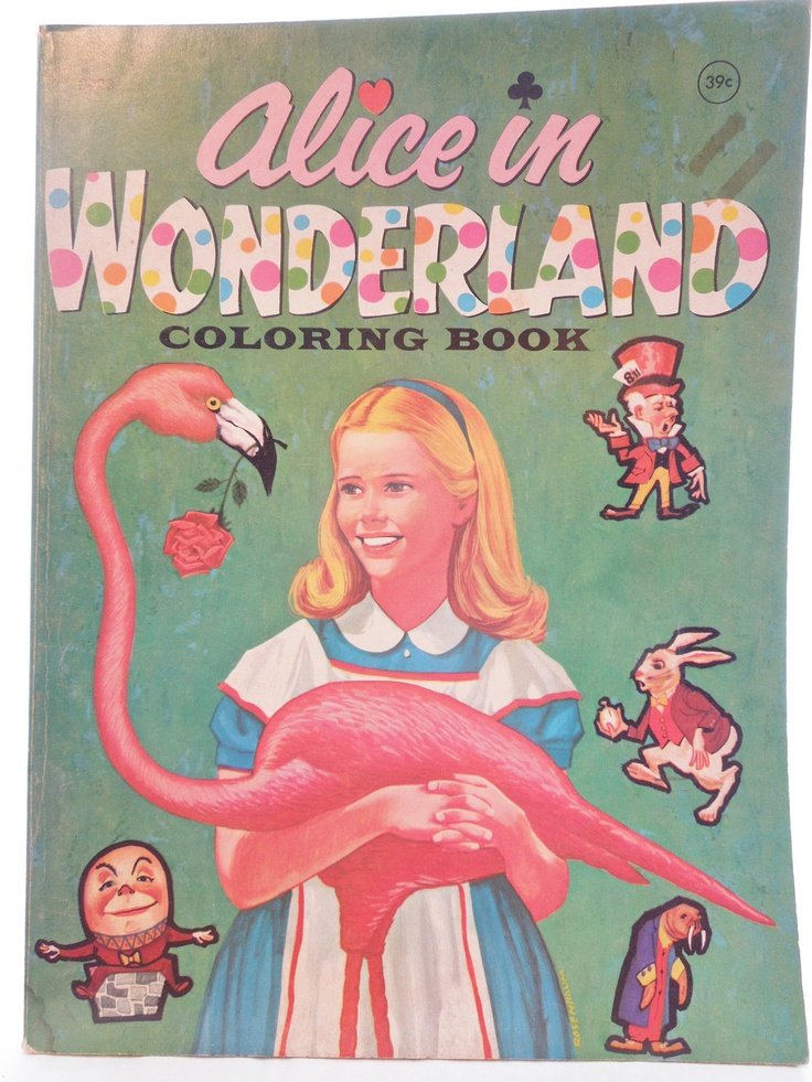colouring book: Books Pap Dolls, Wonderland Colors Books, Alice In Wonderland, Wonderland Books, Alice Books, Books Magazines Colors Books, Big Books, Colors Books Pap, Coloring Books