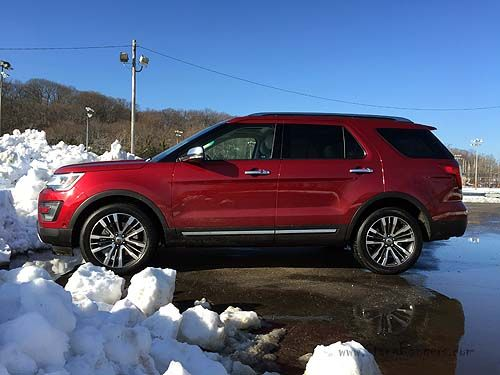 2016 Ford Explorer Platinum side view www.villaford.com