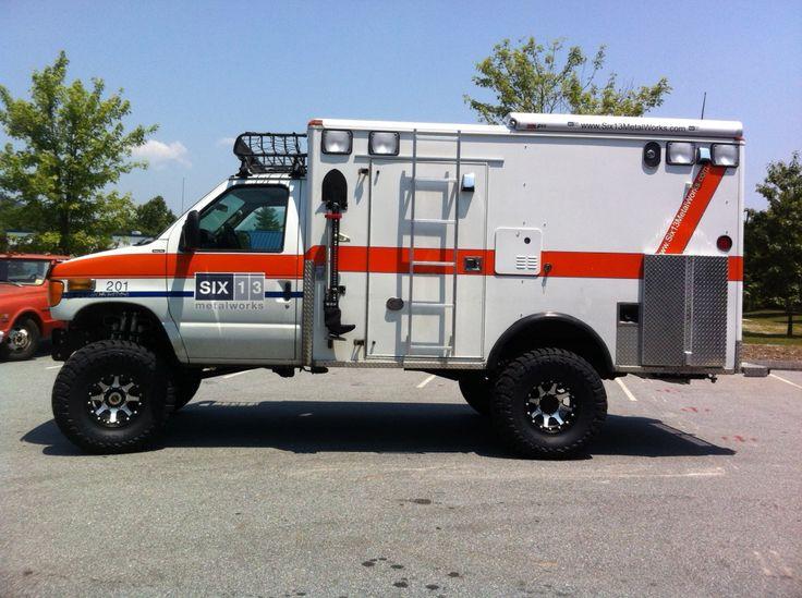 Six13 Metalworks » HD-RV Ambulance Expedition Vehicle