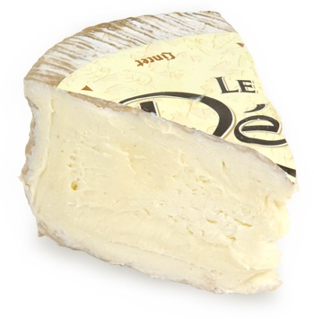 "Délice de Bourgogne, also known as Delice cheese, is a French cow's milk cheese from the Burgundy region of France. The cheese is rich and creamy due to the cheese making process where cream is added twice to the milk during the making of the cheese (see ""Triple cream""). This cheese also has a strong pungent aroma due to its ripening process."
