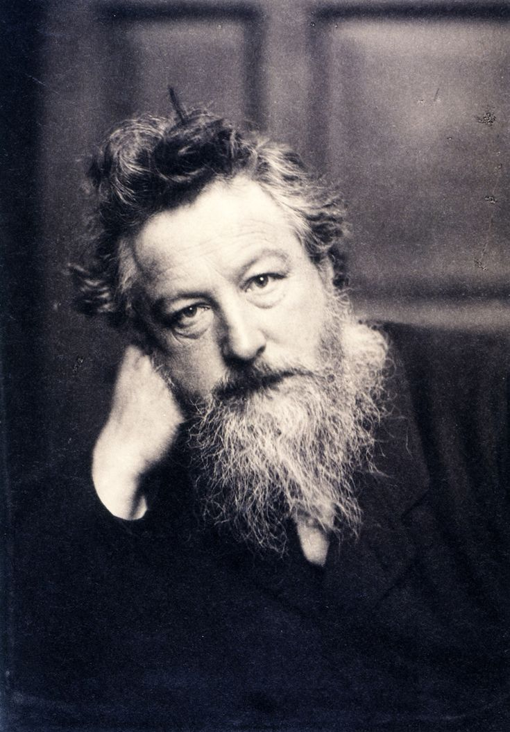 """Have nothing in your houses which you do not know to be useful or believe to be beautiful"" William Morris arts and crafts movement"