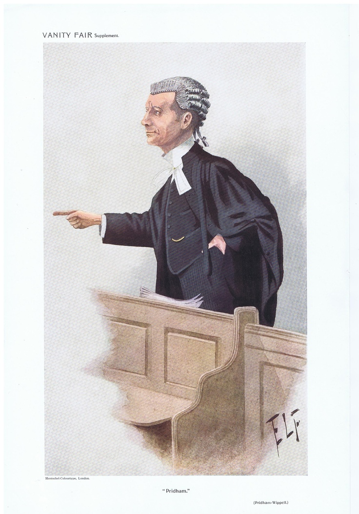 Date: 24-Mar-1910 The Vanity Fair Caricature of Mr. P.H. Pridham Wippel With the caption of : Pridham By the artist: ELF Visit www.theakston-thomas.co.uk for many more Vanity Fair Prints, we have one of the largest collections in the world.