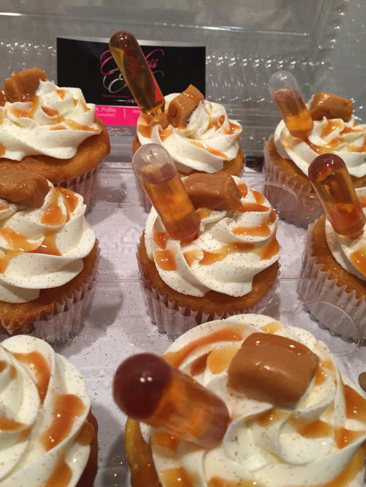 Hennessey Caramel Cupcakes Timeless Events Sweets