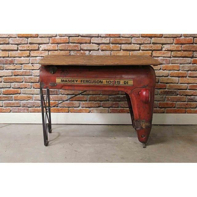 Image of Upcycled Vintage Tractor Writing Table