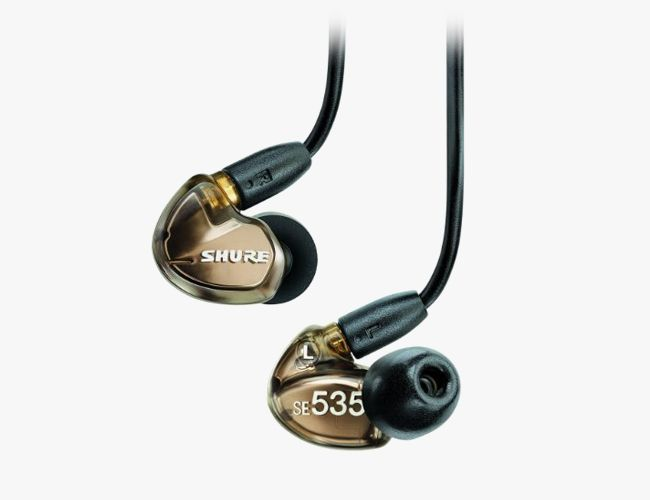 When nothing but the best sound will do, these in-ear hi-fi headphones deliver the clearest, richest sound on the market.