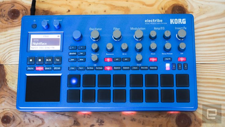 Korg's fun-to-use Electribe sequencers pack big features into a tiny frame