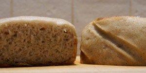 Pain sans gluten (sur poolish)