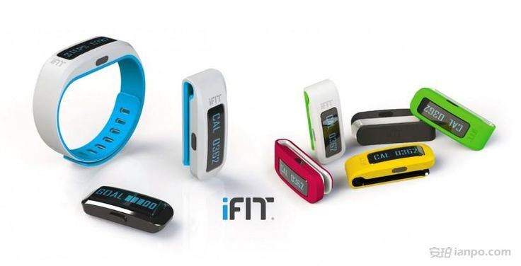 iFit Active 智能腕带:无死角追踪你的健身活动和健康状况 - iFit Active,智能手环,智能腕带,健身追踪器 - 安珀 | 最新智能穿戴设备资讯交流平台