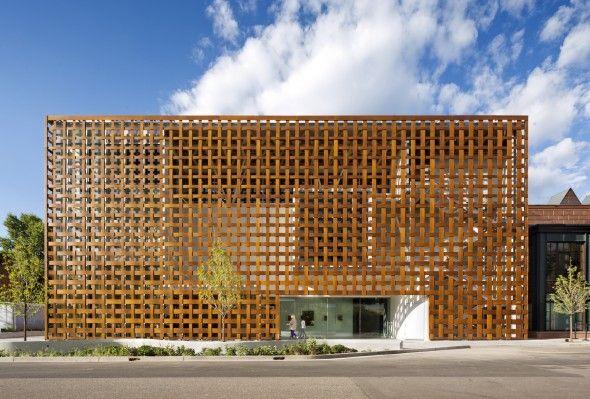 Aspen Art Museum / Shigeru Ban Architects | AA13 – blog – Inspiration – Design – Architecture – Photographie – Art