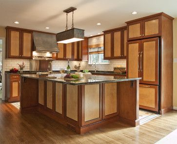 The Two Tone Home Bay Window Ideas Kitchen Cabinets Cabinet Colors