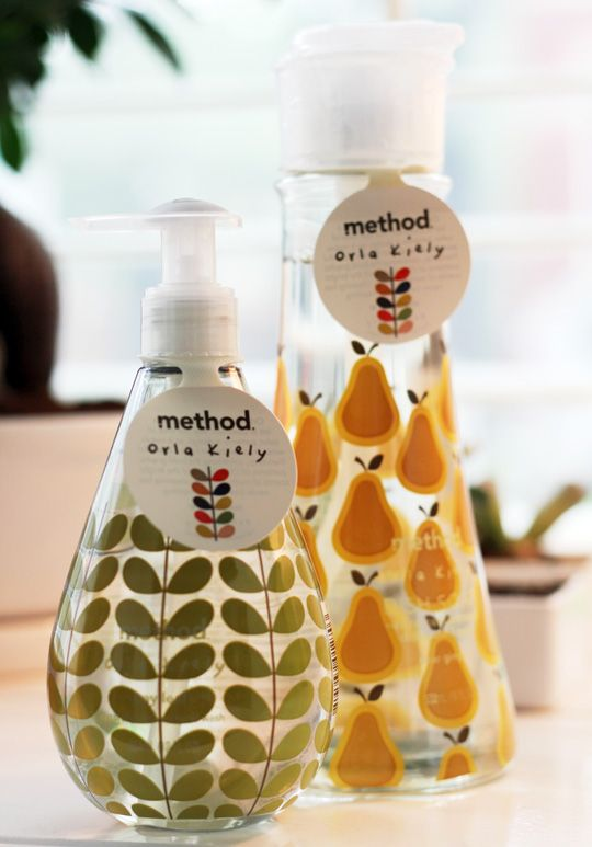 limited edition orla kiely + method collection: Orla Kiely, Dishes Soaps Packaging, Kitchens Stuff, Limited Editing, Apartment Therapy, Soaps Design, Method Collection, Editing Orla, Clean Products