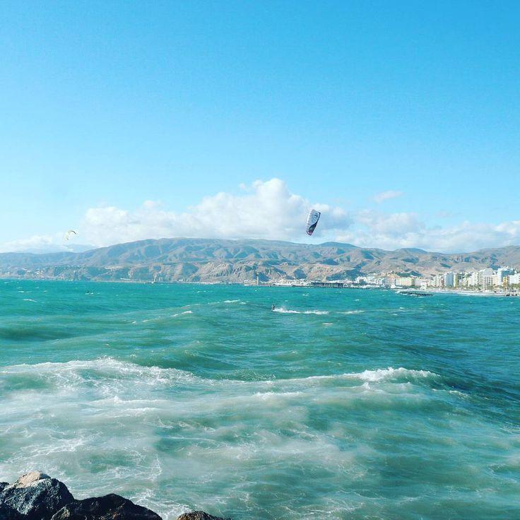 #almeria #kitesurf #spain #blueocean