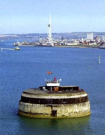 Portsmouth Sea Hotel, Portsmouth Hampshire, UK - Spitbank Fort, built in the 1800's as a defence from the French,Spitbank Fort is now a hotel with nine bedrooms, looks amazing and very unusual, you can also go for Sunday lunch, would make a wonderful treat!