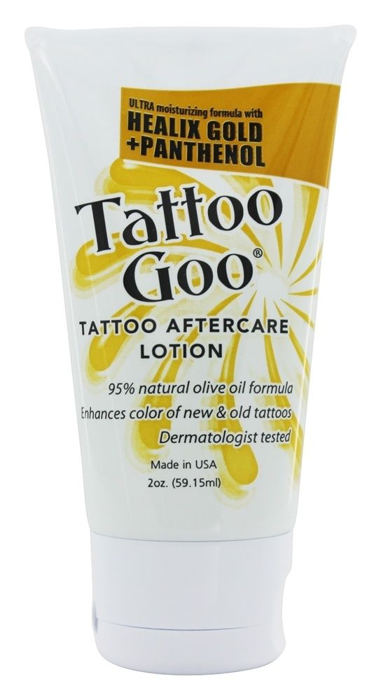 Save on Tattoo Aftercare Lotion by Tattoo Goo and other Tattoo Aftercare 									and Artificial Colors Free remedies 							 at Lucky Vitamin. Shop online for Personal Care & Beauty, Tattoo Goo items, health and wellness products at discount prices.