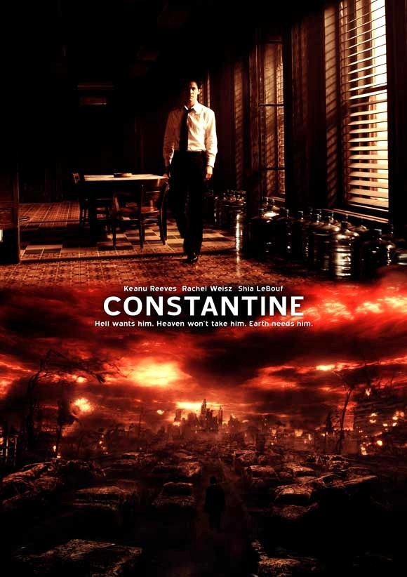 Constantine, Reeves and Weisz were impeccable in this. Stuck between heaven and hell and knowing about it all.
