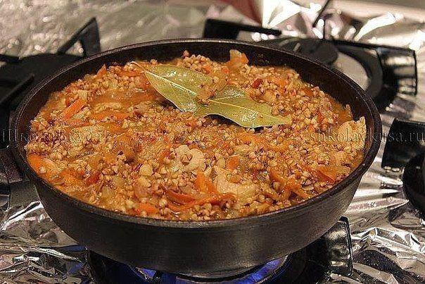 Рецепт такой гречки покорил весь мир | Кулинарные Рецепты