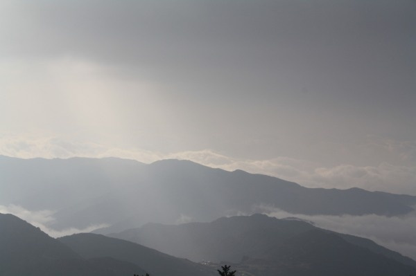 Traversing the mountain ranges of Uttarakhand... This is enroute Joshimath...