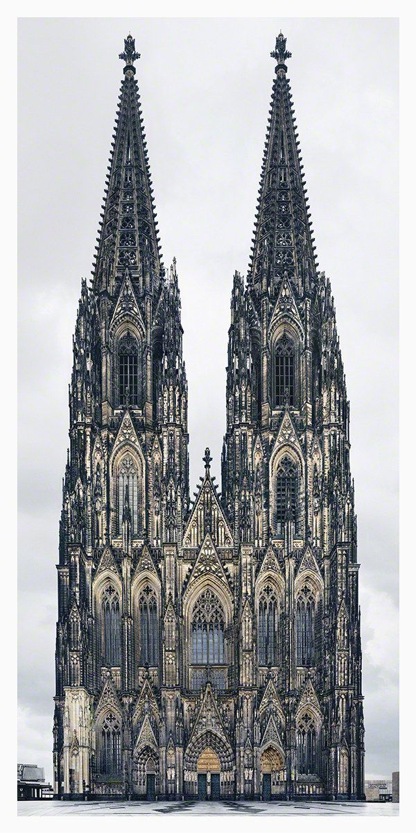 Markus Brunetti's Cathedral Façade Photographs at Yossi Milo Gallery | Architectural Digest