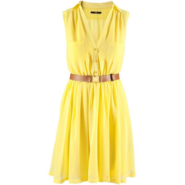 Ooh, I like!: Summer Dresses, Spring Dresses, Dreams Closet, Yellow Dresses, Style, Clothing, Spring Fashion, Summer 2012, Primavera Verano