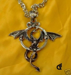 Awesome dragon necklace