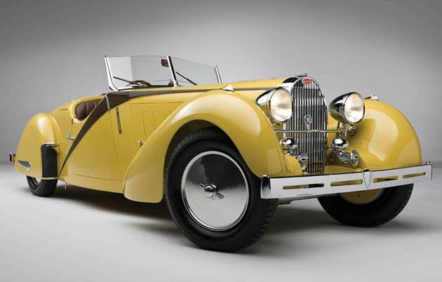 1935 Bugatti Type 57 Grand Raid Roadster - one of only 10 built, and one of only 2 with custom coachwork