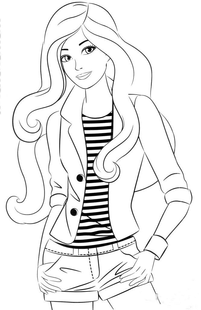 Kolorowanka Barbie 17 Resim Barbie Coloring Pages Barbie