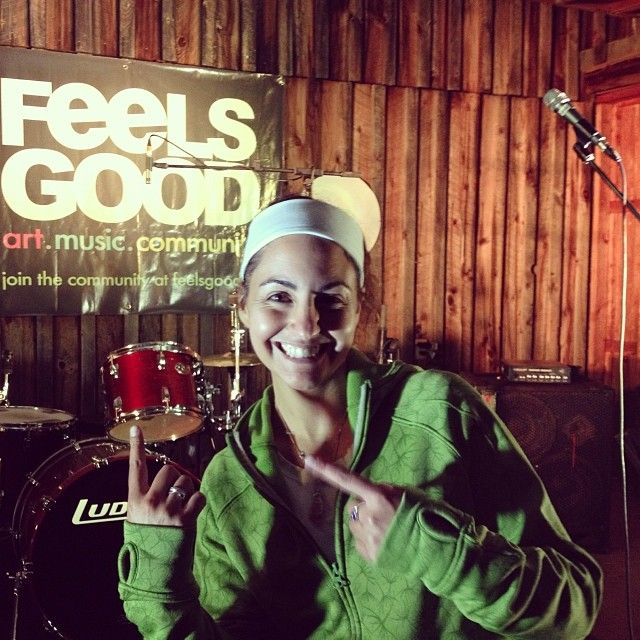 """Of course this journey starts at an event titled """"Feels Good Folly Fest"""" - makes sense!!!!! #gooddeedsproject"""