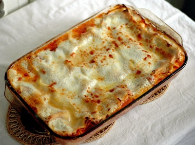 Lasagna Bolognese, Simplified (Cook's Illustrated recipe)