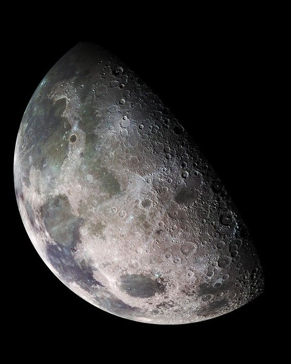 The Moon 8 x 10inch Photo of Earth's Moon by DeepSpacePhotography