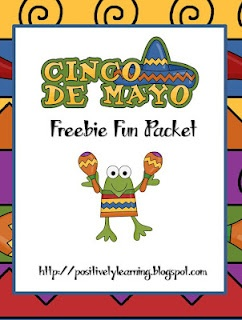 Cinco de Mayo Freebie Fun from Positively Learning