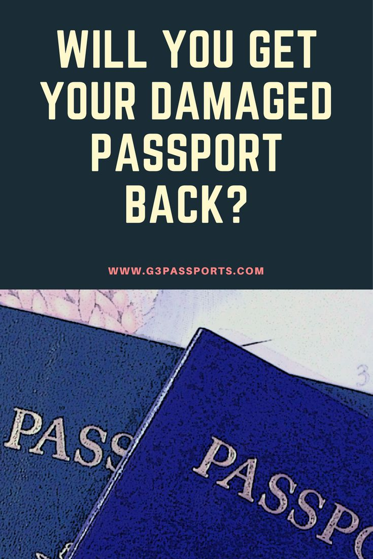 You will get your old passport back if you renew it or change your name, but the rules are different if you are replacing a #DamagedPassport.