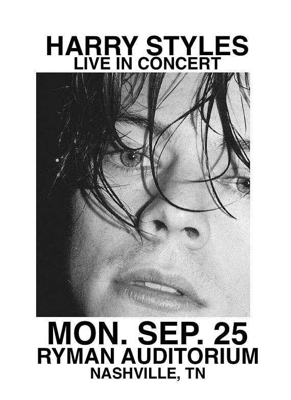 8ca67a960f173 harry styles live on tour custom made poster   Christmas List in ...
