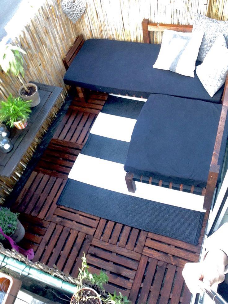 1000 ideas about kleinen balkon gestalten on pinterest balconies small balconies and railings. Black Bedroom Furniture Sets. Home Design Ideas