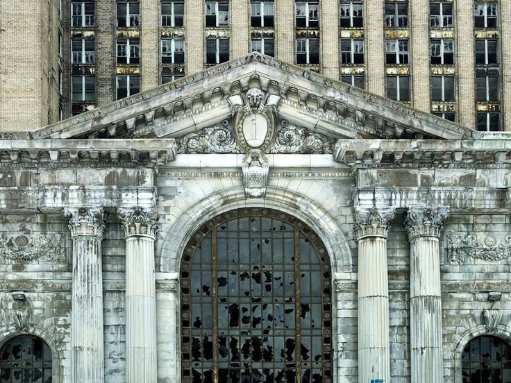 Michigan Central Station, Detroit, USA