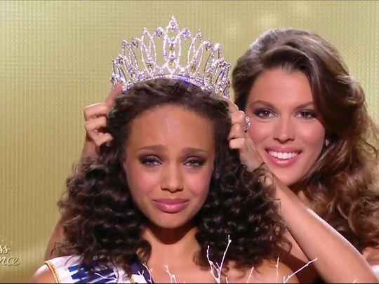 Alicia Aylies, Miss Guyane, a été sacrée Miss France 2017