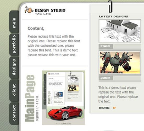 HTML Business Template responsive website templates, corporate ...