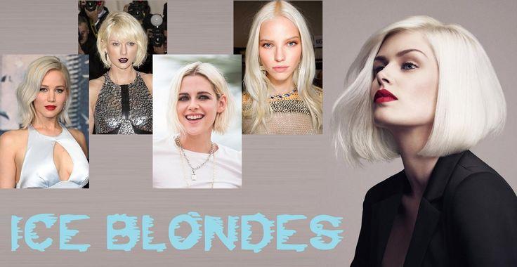 """Nel 2015 fu il momento dello stile """"Frozen""""… ma i capelli per questa Estate 2016 si vestiranno di nuovi colori e intriganti contrasti. Le tonalità fredde, a partire dall'ice blonde (o biondo ghiaccio) saranno un must delle colorazioni per tutti i tipi di capelli e di tagli: dai bob corti fino ai lunghissimi, per un indossare un look avveniristico. Insomma, se l'incarnato permette non abbiate paura di osare con l'Ice Blonde e le sue tonalità gelide che donano eleganza e raffinatezza."""