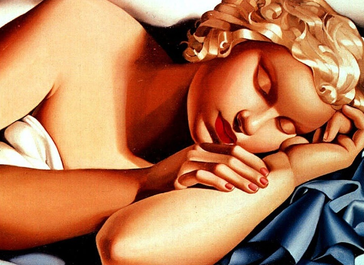 Tamara de Lempicka Donna che Dorme 1935