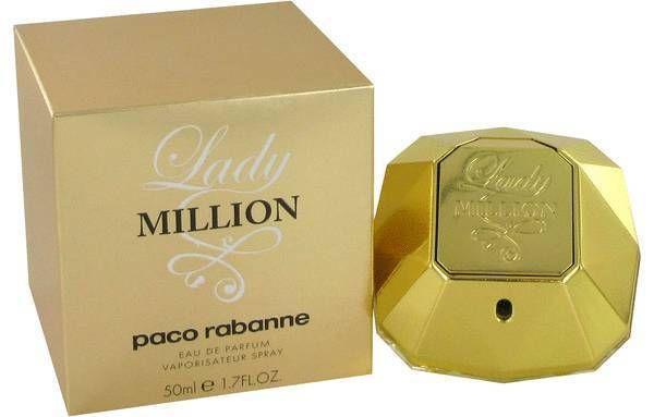 1 One Lady Million Perfume 1.7 oz Eau de Parfum 50 ml by Paco Rabanne Women NIB #PacoRabanne