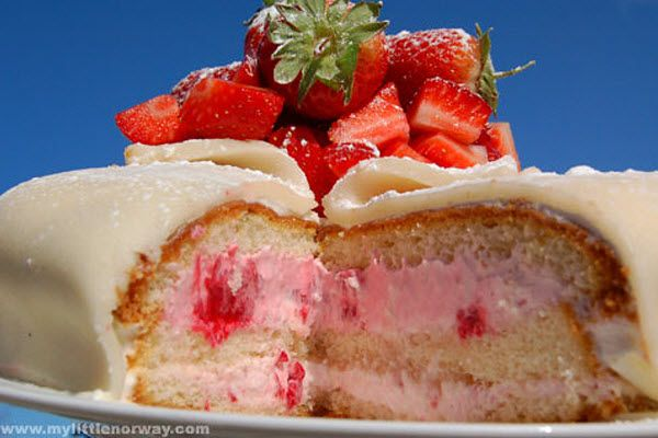 Marzipan Cake - Holiday Treats: Candy Cane and Marzipan Delights - ParentMap