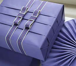 Pleated gifts