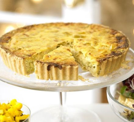 A creamy tart from MasterChef judge John Torode that makes a great centrepiece at any time of year
